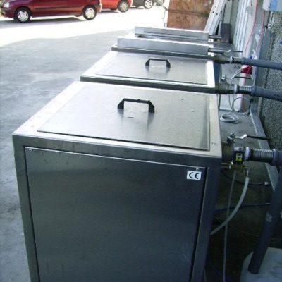 impianto di lavaggio per motori, stampi, tornitura meccanica