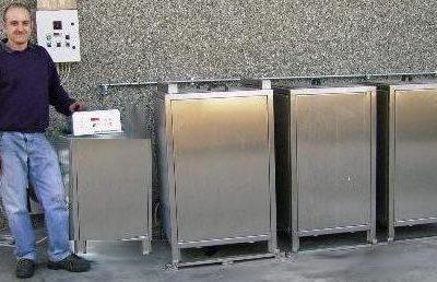 Impianti modulari di trattamento delle superfici tecniche